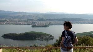 Joanina - widok z Koukouvagia